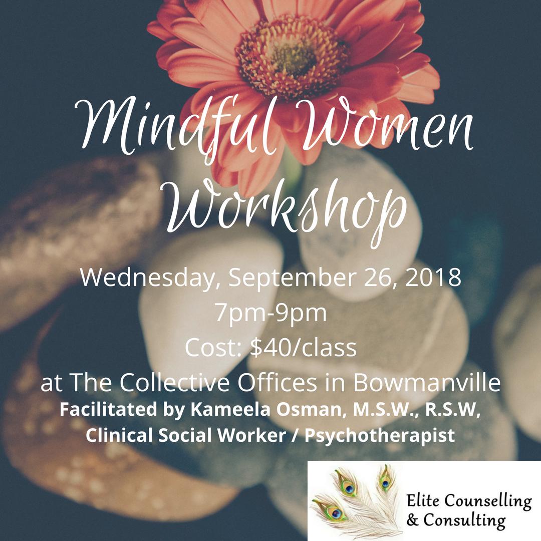 September Mindful Women Workshop