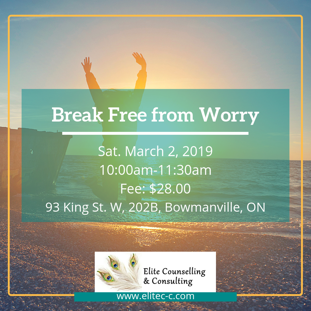Breaking free form worry March 2019