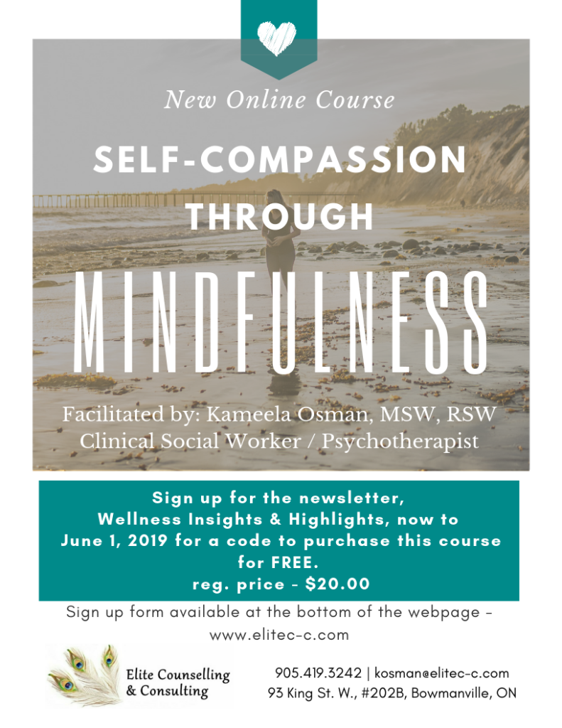 Self-Compassion through Mindfulness