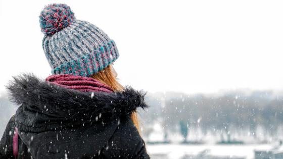 Winter wellness blog banner Blue Monday